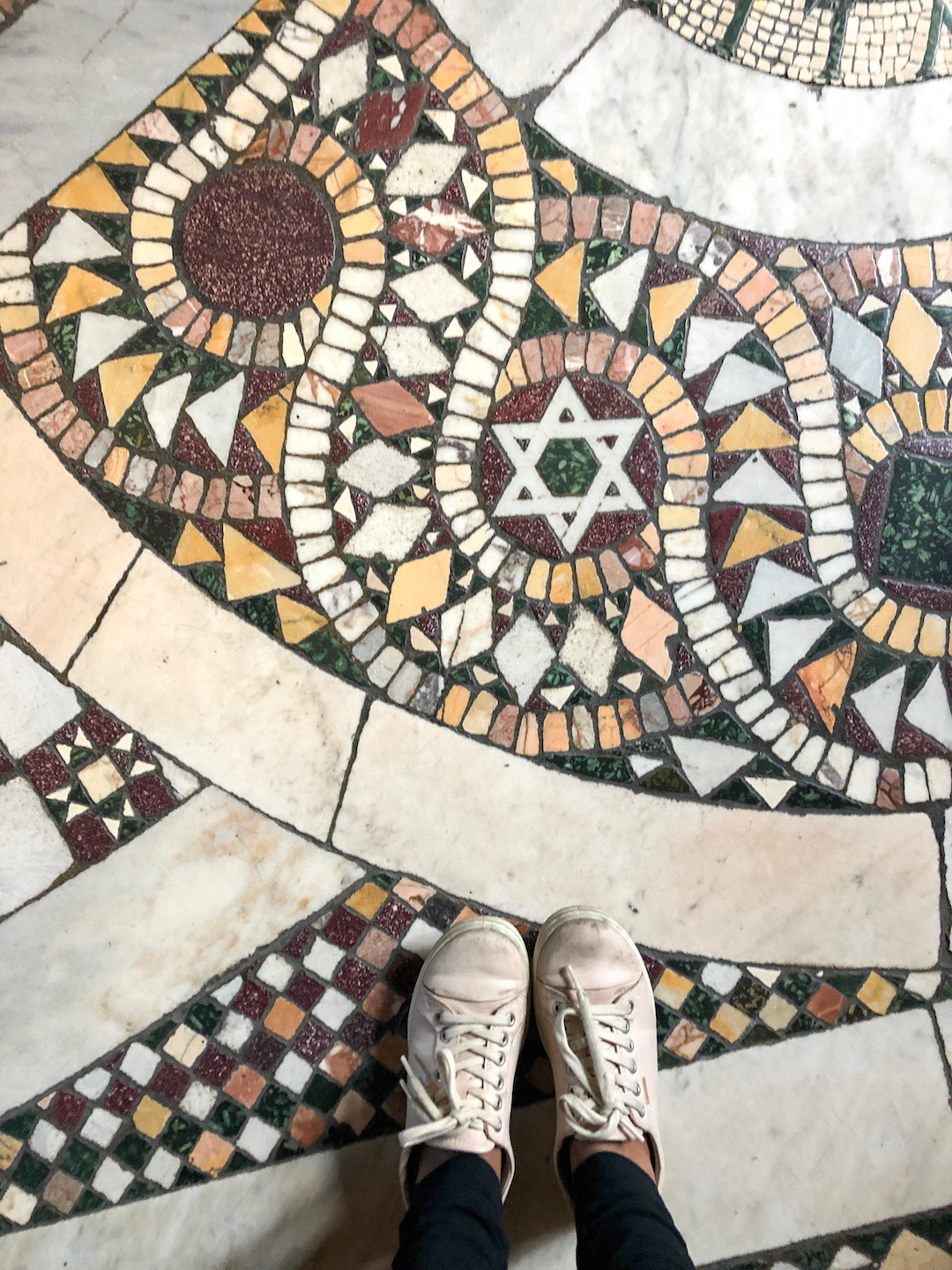 Jewish Star in Vatican City