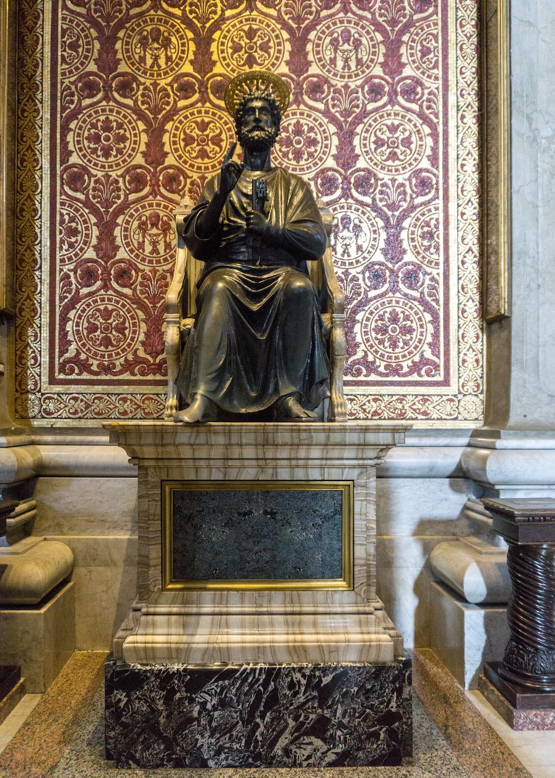 St Peters Statue Vatican
