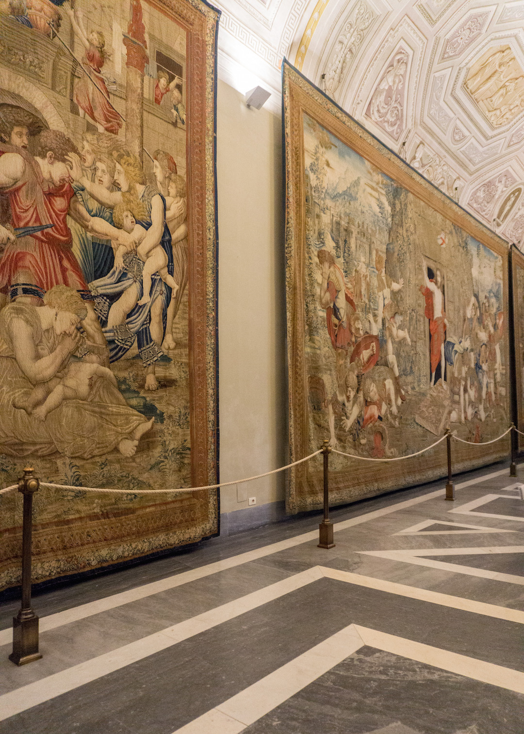 Tapestry of Jesus at the Vatican