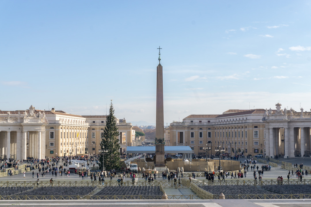 Vatican City in Christmas
