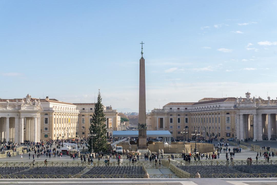 Vatican City in Christmas