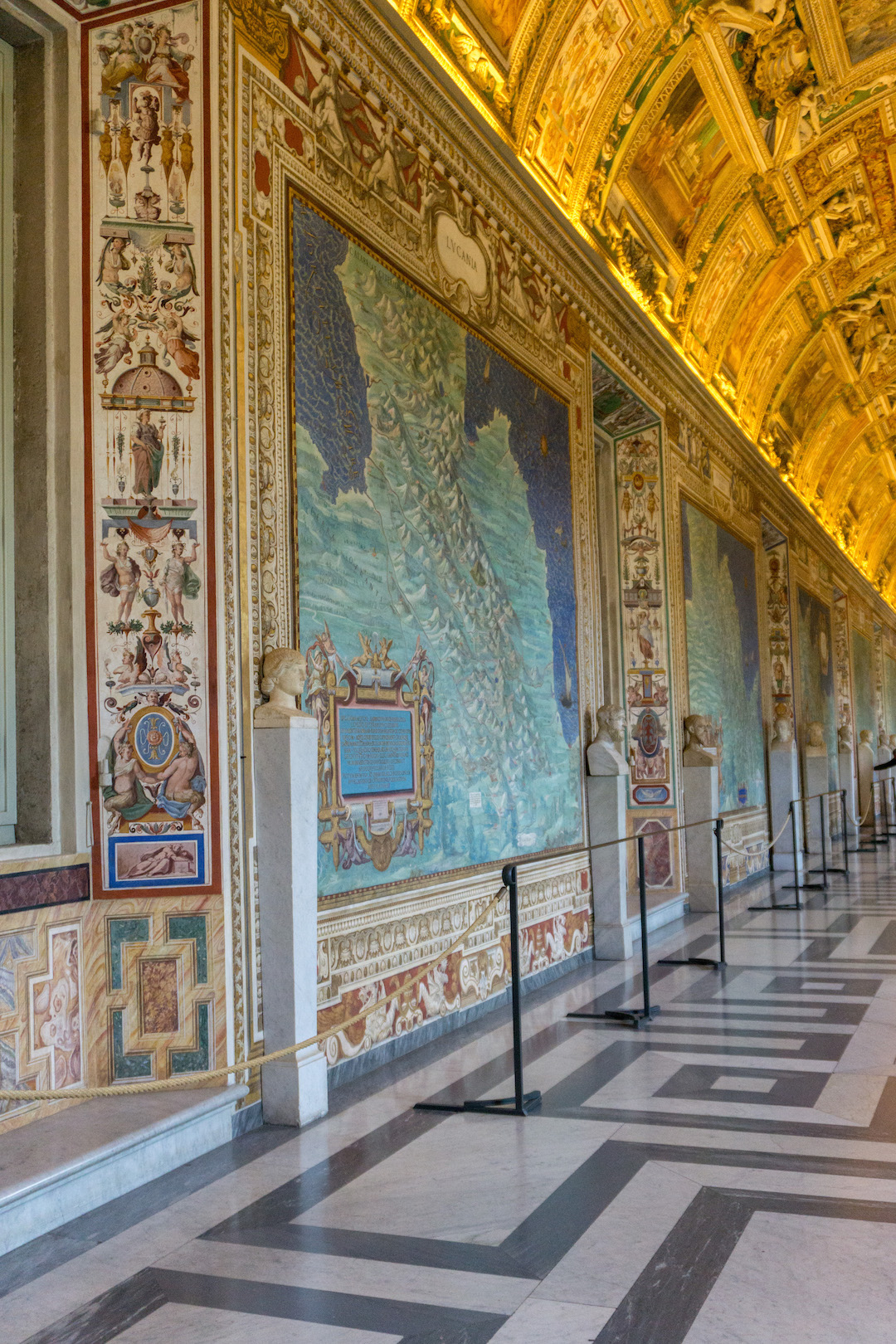 Maps room in the Vatican