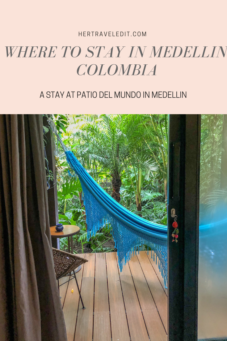 The best place to stay in Medellin, a boutique hotel in El Poblado