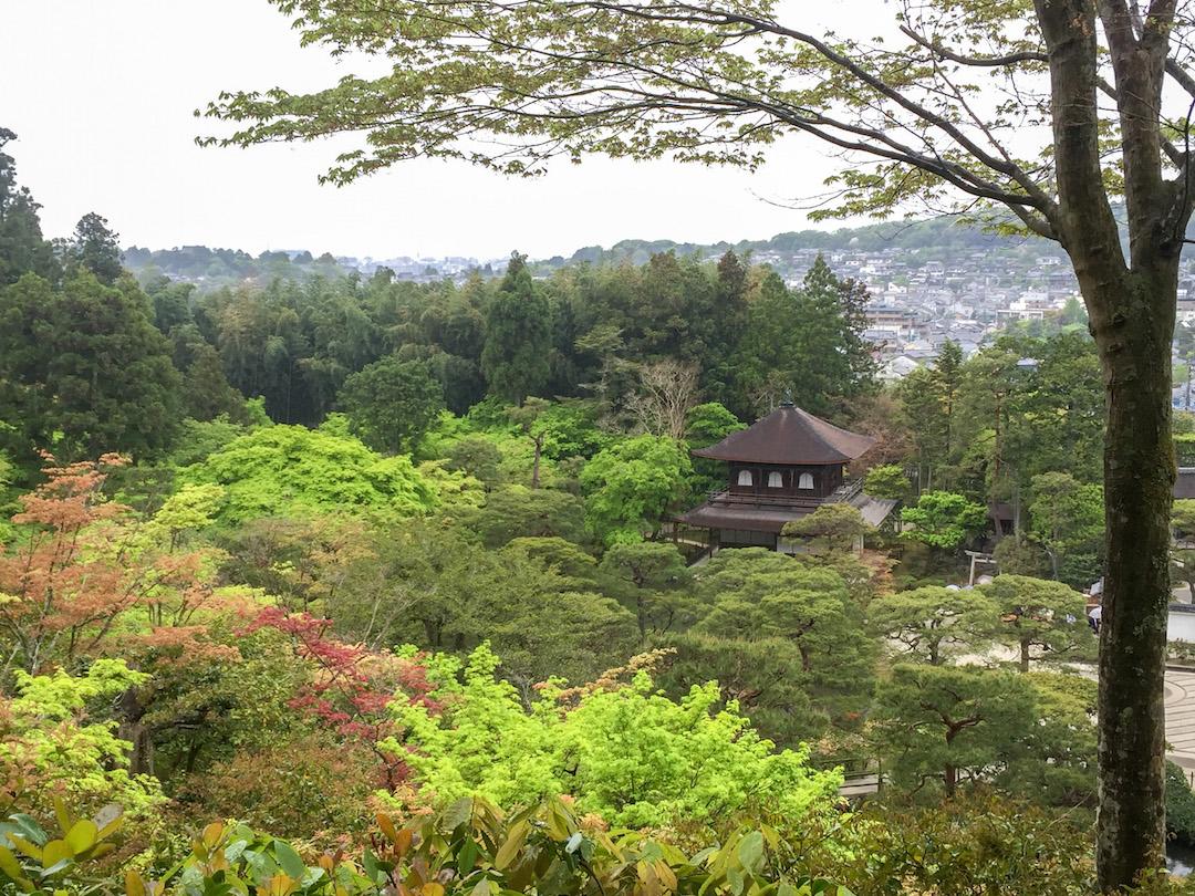 Silver Temple in Kyoto