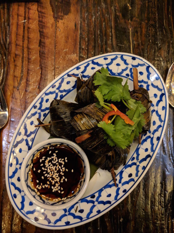 Appetizer at Thai Villa New York City