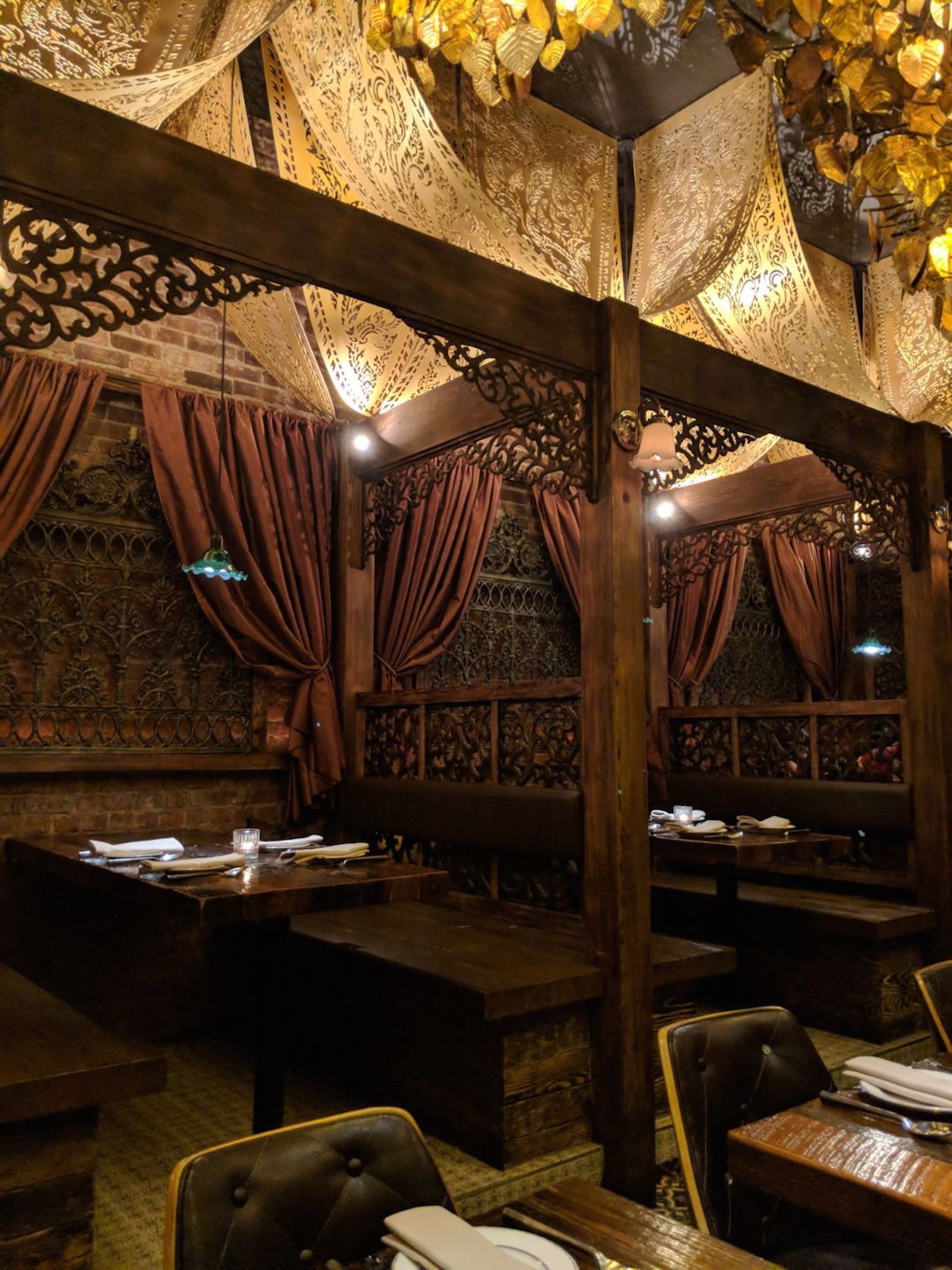 Thai Villa New York City Interiors