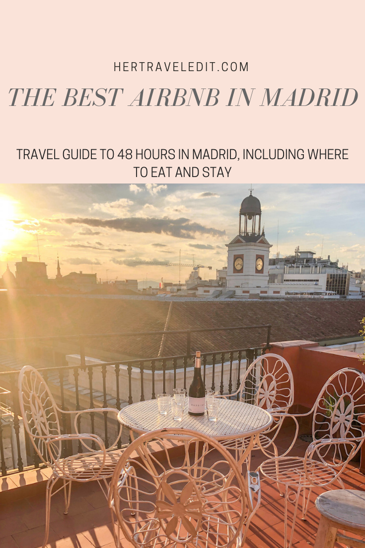 The Best Airbnb in Madrid