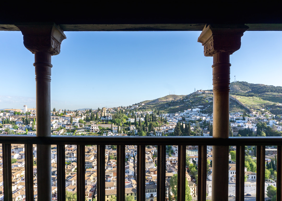 Views of Granada from the Alhambra