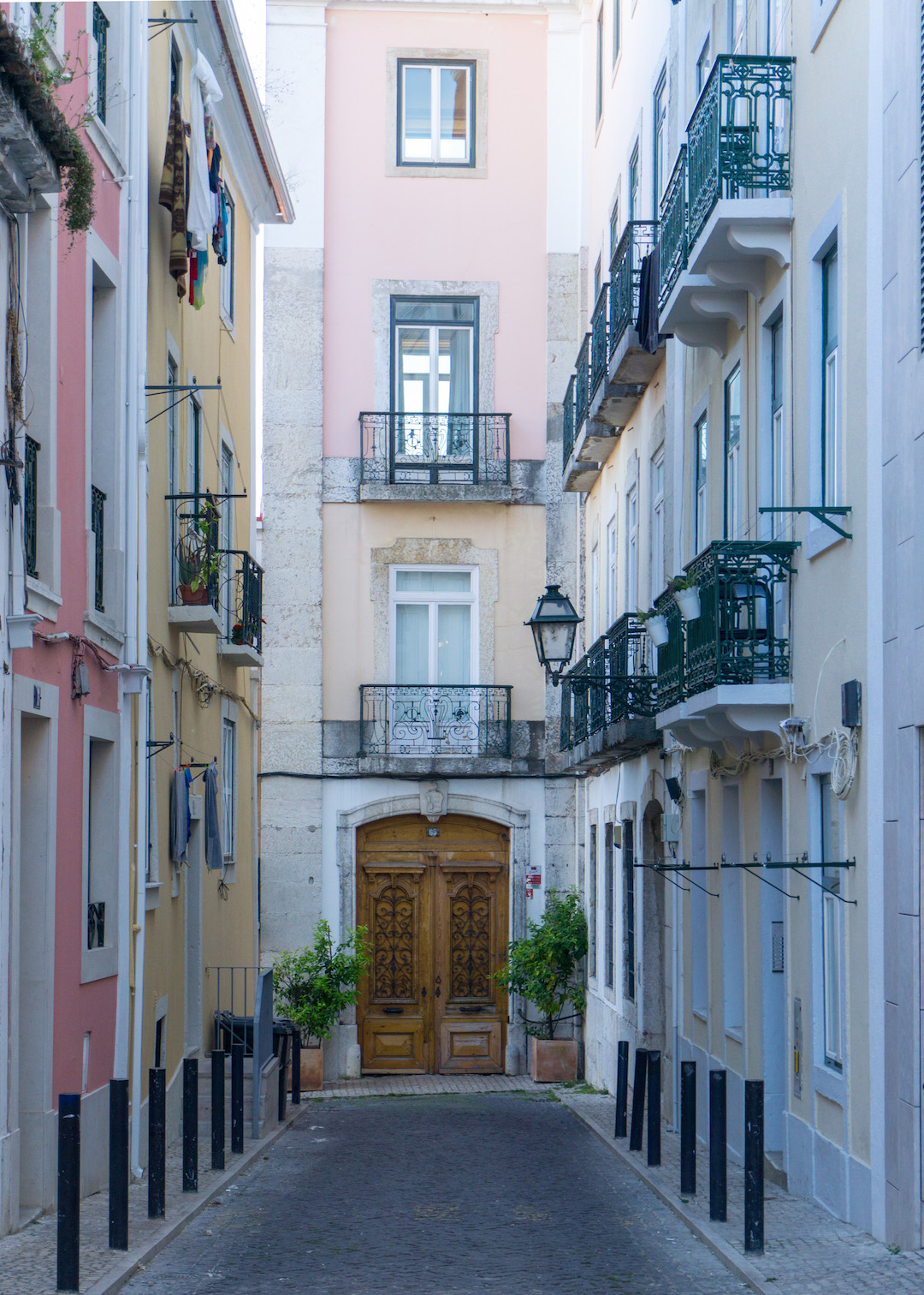 Pretty Alley in Lisbon