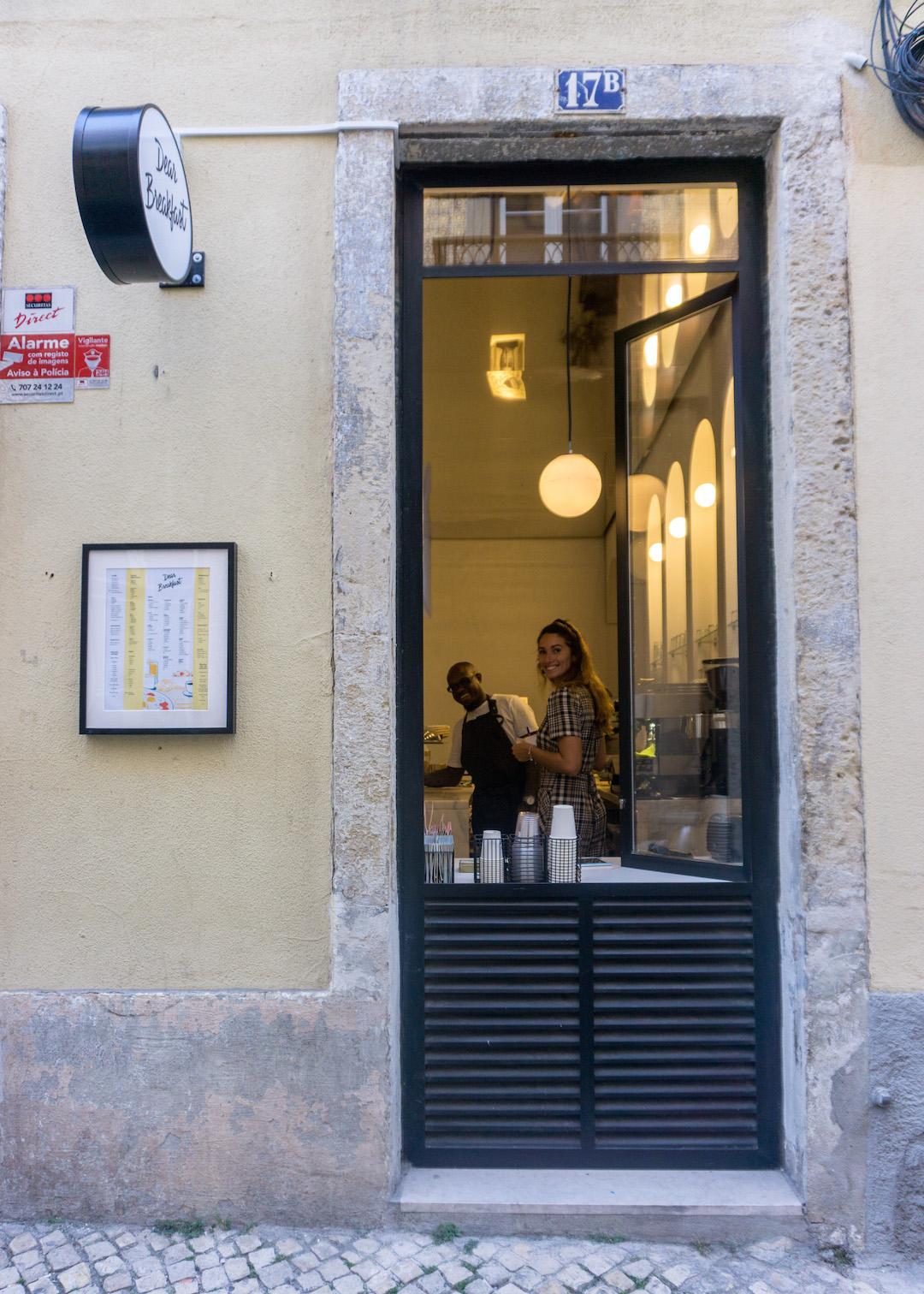 Dear Breakfast Lisbon Window