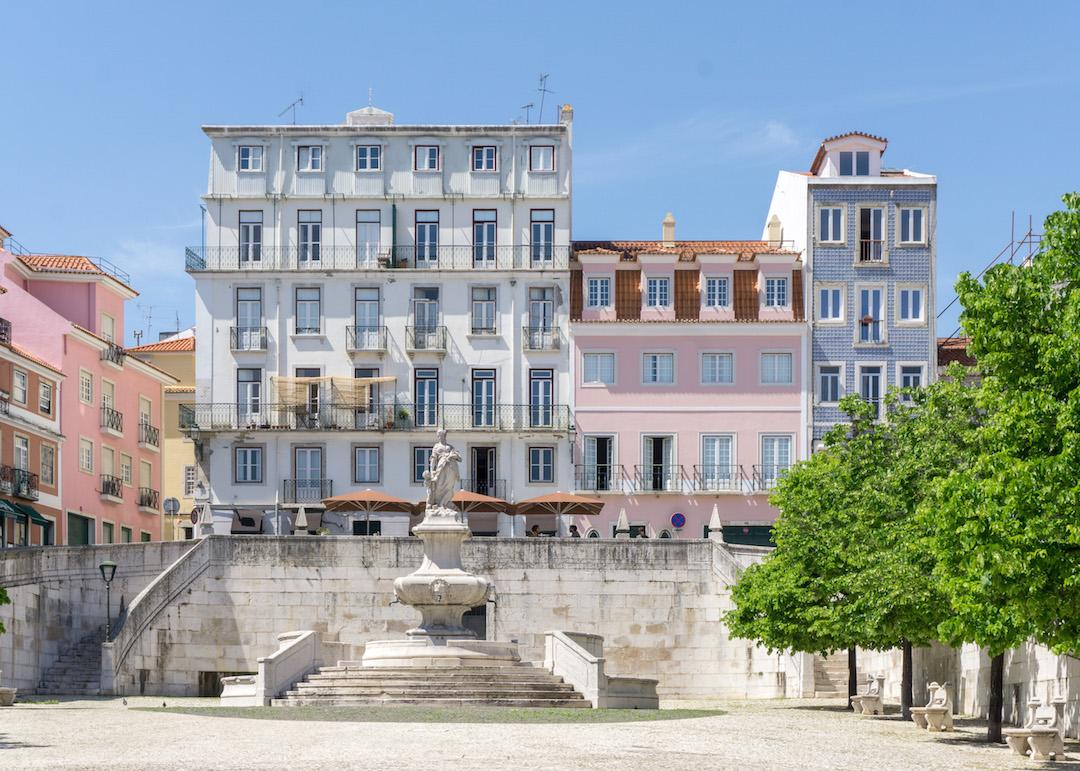 Houses in Lisbon
