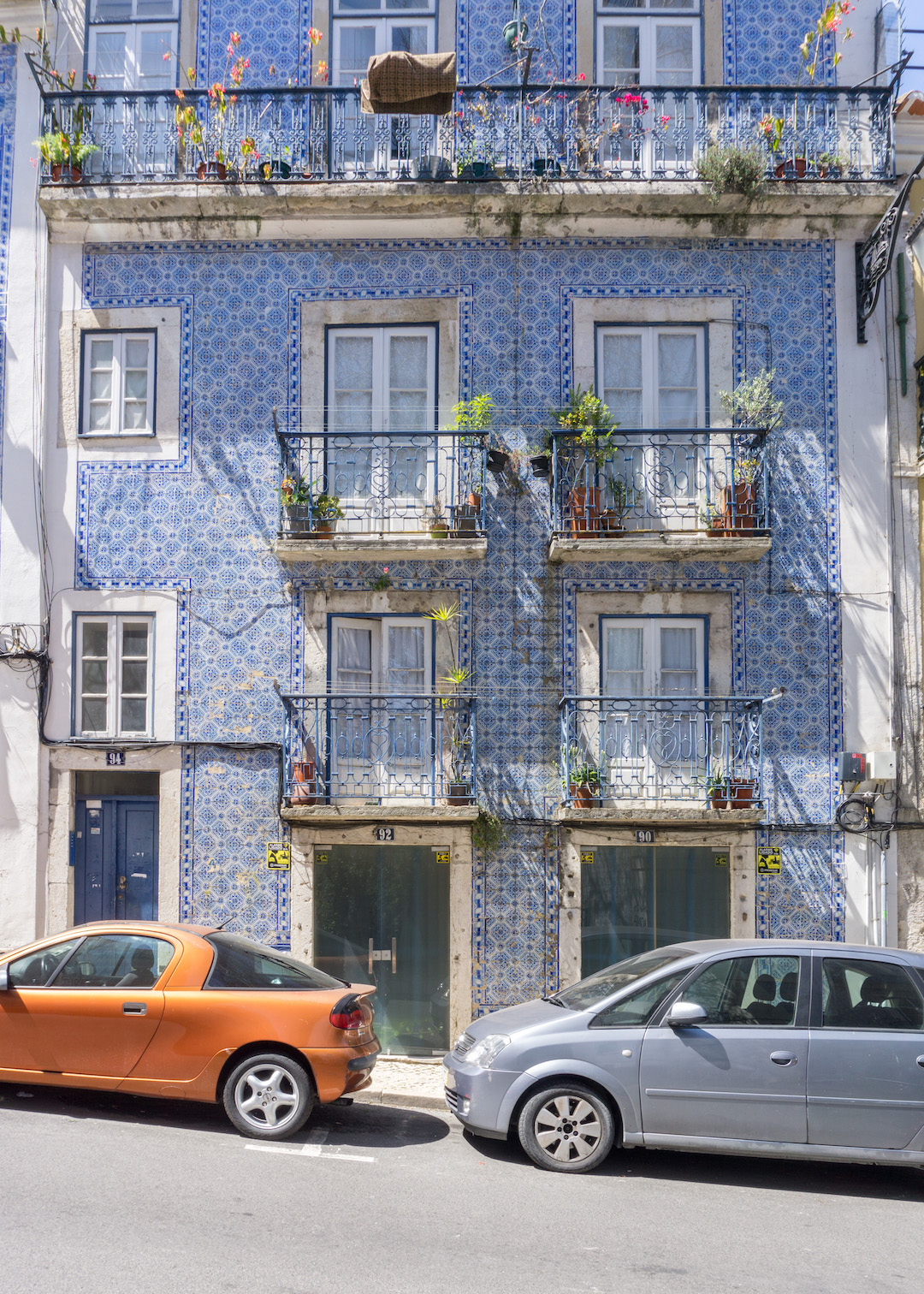 Tiled House in Lisbon
