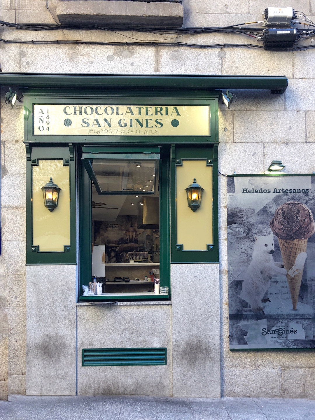 Chocolateria San Gines in Madrid