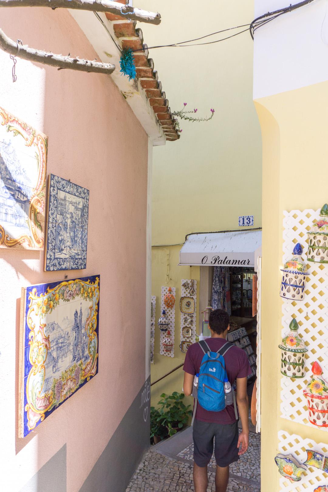 A street in Sintra