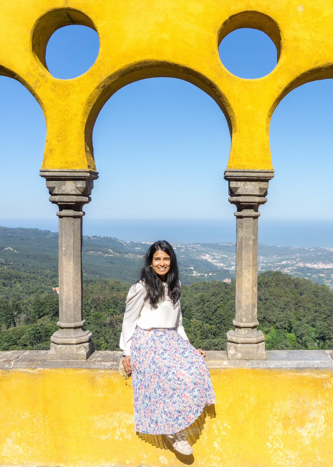 Her Travel Edit in Sintra at Pena Palace